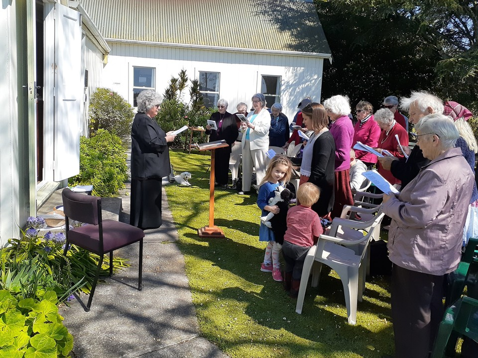 Animal Blessing Service at Matawhero Church