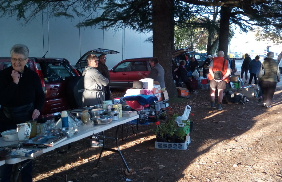 Saturday morning Car Boot Sale