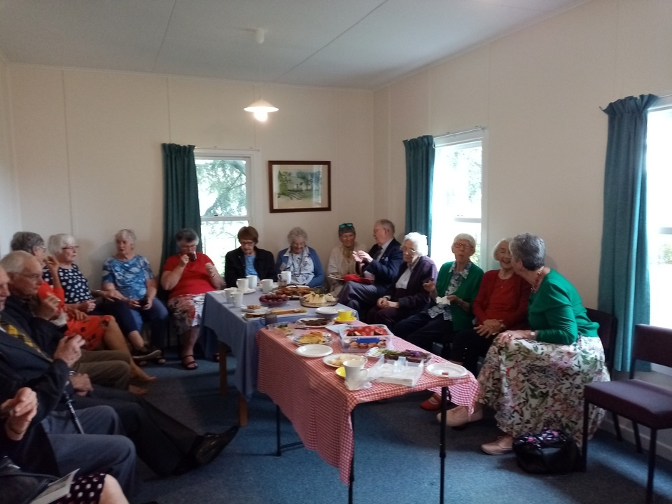 Shared lunch at Matawhero 3.01.21