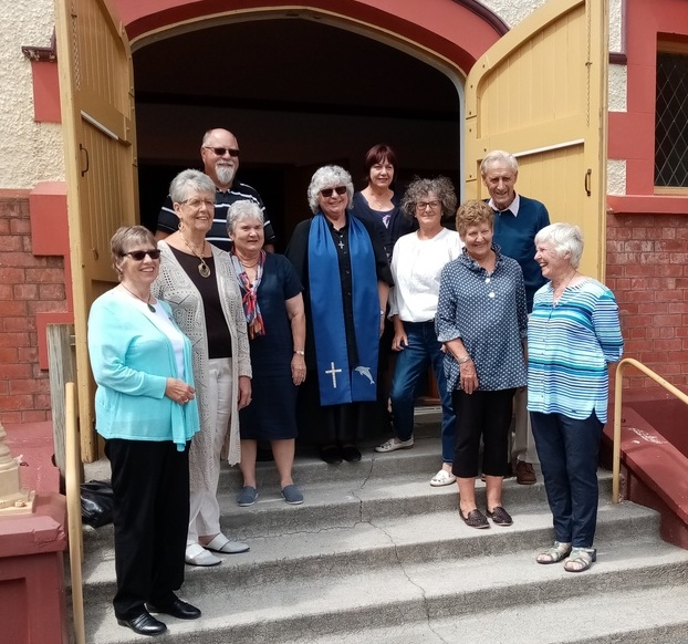 Mary with Parish Council 23 February 2020