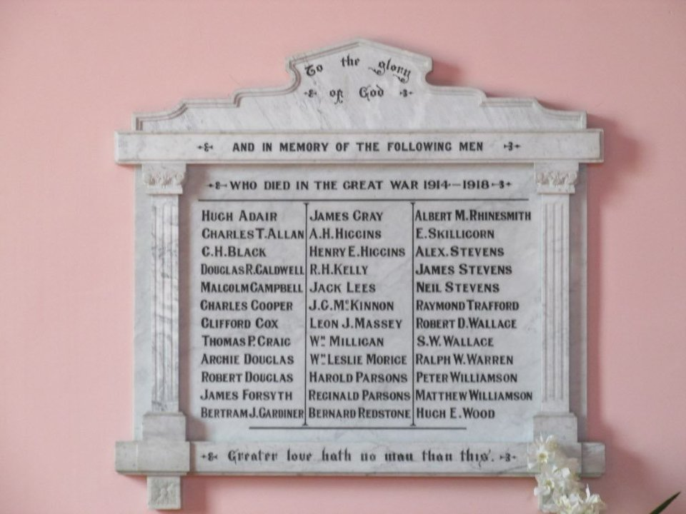 Anzac Remembrance Roll of Honour